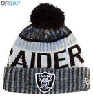 NEW ERA NFL TEAMS CUFF SPORT KNIT BOBBLE BEANIE HATS
