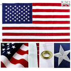 4'x6' / 3'x5' FT American Flag Embroidered Stars Sewn Stripes Heavy Duty USA US