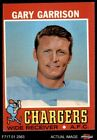 1971 Topps #172 Gary Garrison Chargers EX $1.35 USD