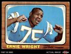 #131 Ernie Wright Chargers GOOD $4.5 USD on eBay