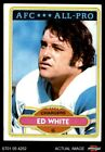 1980 Topps #190 Ed White - All-Pro Chargers California 8 - NM/MT $5.0 USD on eBay