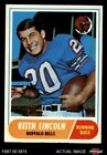 1968 Topps #19 Keith Lincoln -  Bills NM $6.0 USD