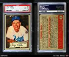 1952 Topps #1 Andy Pafko Dodgers PSA 4 - VG/EX