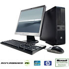 HP RP5700 SFF Desktop Computer PC Core 2 Duo 2.13GHz Windows XP / 7 / 10 + LCD