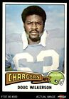 1975 Topps #44 Doug Wilkerson -  Chargers NM/MT $11.0 USD