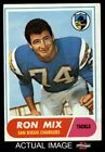 1968 Topps #89 Ron Mix Chargers EX/MT $8.5 USD on eBay