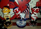 3 Cleveland Indians CHIEF WAHOO Bobbleheads Playoffs TRIBE Baseball Lindor Cavs