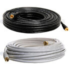 Kyпить RG59 Gold Plated Coaxial Digital Cable for Satellite TV VCR Video 25' 50' 100' на еВаy.соm