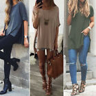 Fashion Women's Summer Loose Top Short Sleeve Blouse Lady Casual Tops T-Shirt /