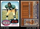 1976 Topps #360 Fred Carr Packers NM/MT