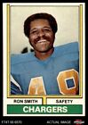 1974 Topps #45 Ron Smith Chargers San Diego St 8 - NM/MT $5.75 USD on eBay