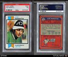 1973 Topps #400 Joe Namath Jets PSA 7 - NM