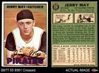 1967 Topps #379 Jerry May Pirates VG