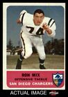 1962 Fleer #82 Ron Mix -  Chargers EX/MT $38.5 USD