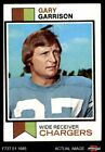 1973 Topps #375 Gary Garrison Chargers EX $0.99 USD