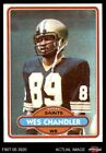1980 Topps #275 Wes Chandler -  Saints NM/MT $0.99 USD