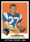 1969 Topps #233 Gary Garrison Chargers NM $14.0 USD
