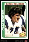 1978 Topps #360 Louie Kelcher Chargers NM $2.35 USD on eBay