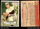 1952 Topps #174 Clarence Marshall Cream Back Browns EX