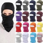 Outdoor Motorcycle Cycling Full Face Mask Balaclava Ski Neck Black Protection