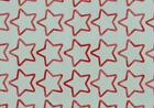 54 Star Outline Shaped Stickers, lots of colours, decoration, tanning tattoo