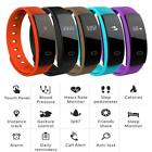 Bluetooth Smart Watch Heart Rate Blood Pressure Monitor Fitness Waterproof ED