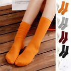 Fashion Women Girls Cotton Ankle Socks Solid Color Business Casual Weekly Socks