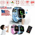 Anti-baffled Kids GPS Tracker SOS Call Children Smart Watch For Android IOS Phone