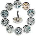 Stainless Car Air Vent Freshener Essential Christmas Oil Diffuser Clips ED