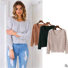 Autumn Winter Warm Sweater Women's Loose Pullover Fashion Shirts Tops