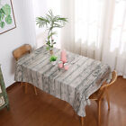 Home retro Table Cover Cotton Linen Tablecloth Lace Tea Table Dinning Decor
