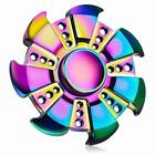 Hand Finger Fidget Spinner LED Pocket Konzentration Anti Stress ADHS Licht Musik