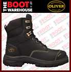 Oliver Safety Work Boots, 55345, Steel Cap, Full Grain Oil Kip, Water Resistant
