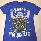 New Rudolph Abominable Snowman Christmas Holiday shirt men's sizes new
