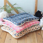 Washable Pet Dog Puppy Cat Kennel Cage Pad Bed Cushion Fleece Mat Soft Blanket