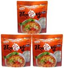 KOREA MRE Meals Ready to Eat Instant Noodle(Ramen) and Rice Jjampong Bowl 110g