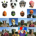 Latex Mask Mix Horse Head Creepy Animal Halloween Costume Theater Prop Party Toy