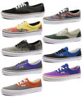 New Vans Era Unisex Trainers/Plimsolls ALL SIZES AND COLOURS