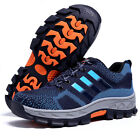 Mens Safety Shoes Fashion Steel Toe Work Boots Hiking Climbing Shoes