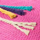 "Twisted Cotton Rope - 1/4"" Inch Rope in 10, 25, 50, and 100 Feet - Solid Colors"