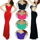 New Long Prom Charm Backless Masquerade Ball Gowns Evening Formal Dress Elegant