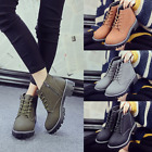 Autumn New Women Chunky Heels Leisure Short Boots Add Wool Warm Short Boots