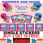TOPPS Shimmer and Shine Stickers 2017   BUY 4 GET 10 FREE!! FREE 1ST CLASS POST!