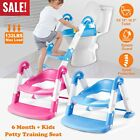 Внешний вид - Kids Potty Training Seat with Step Stool Ladder for Child Toddler Toilet Chair