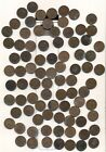 GREAT BRITAIN FARTHING LOT - 85 total, mixed condition, mixed dates