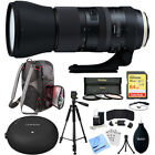 Tamron SP 150-600mm F/5-6.3 Di VC USD G2 Zoom Lens Tap In Console & More Bundle
