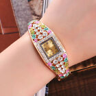 New Wrist Watch for Girls kids Children Woman Fashion Crystal Gold Plated Quartz image