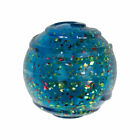 KONG SQUEEZZ CONFETTI BALL LARGE Durable Squeaky Eye Catching Fetch Dog Toy