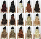 One Piece Clip in Hair Extensions Wavy Curly