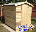 8x6 FACTORY SECOND Apex Shed Windows Optional T&G Tanalised Treated Storage Hut